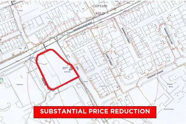 Thumbnail Land for sale in Rochdale Road East, Heywood, Lancashire