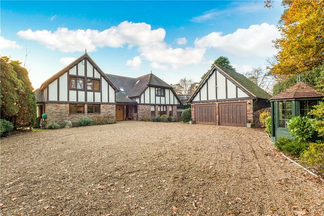 Thumbnail Detached house for sale in Pinemount Road, Camberley, Surrey