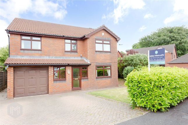 Thumbnail Detached house for sale in Vale Coppice, Ramsbottom, Bury
