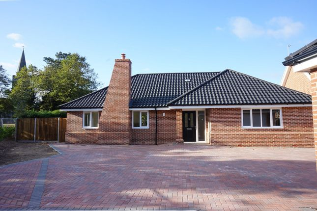 Thumbnail Detached bungalow for sale in School Road, Earsham, Bungay