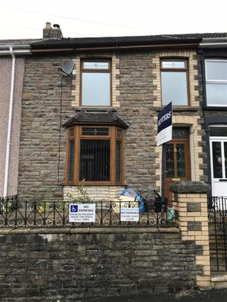 Thumbnail Terraced house to rent in Dunraven Place, Ogmore Vale, Bridgend
