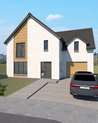 Thumbnail Detached house for sale in Plot 10 The Tay, Castle Grange, Off Old Quarry Road, Ballumbie