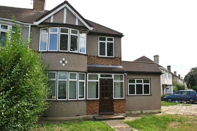Thumbnail Semi-detached house for sale in Carnarvon Drive, Hayes