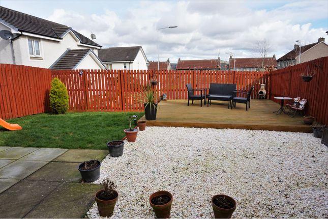Garden of Allan Crescent, Dunfermline KY11