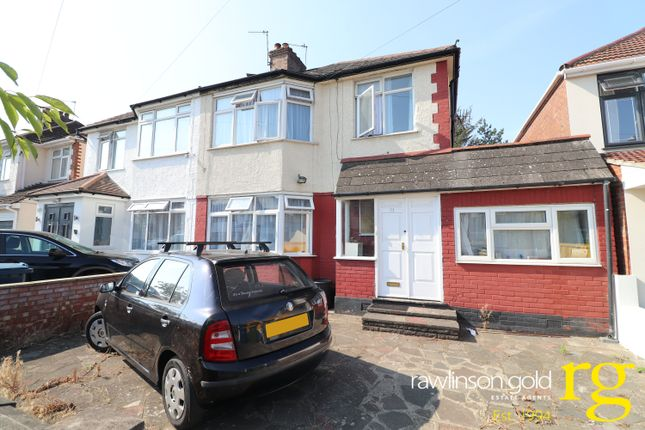 Thumbnail Semi-detached house to rent in Francis Road, Harrow, Middlesex