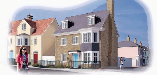 Thumbnail Detached house for sale in Nansledan, Quintrell Road, Newquay, Cornwall
