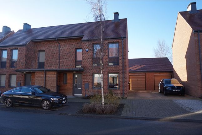 Thumbnail Semi-detached house for sale in Lotherington Mews, York
