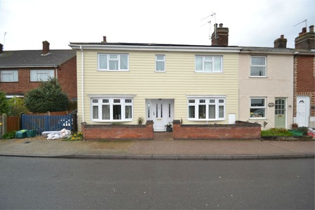 Thumbnail End terrace house for sale in Bromley Road, Colchester, Essex
