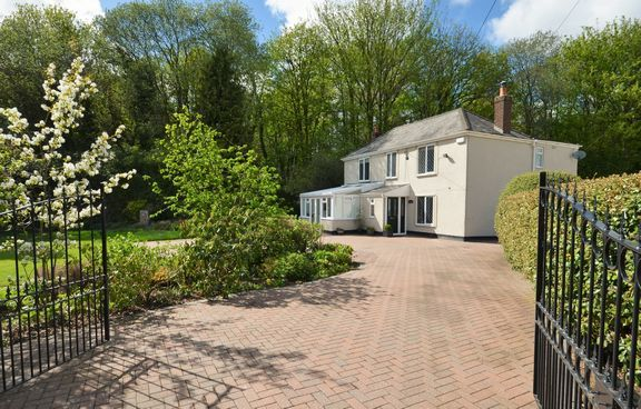 Thumbnail Detached house for sale in Exeter Road, Tiverton