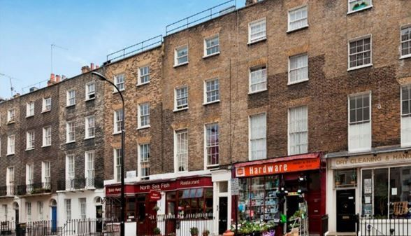 Thumbnail Flat to rent in Leigh Street, Bloomsbury