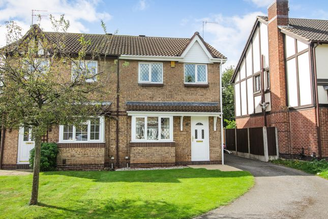 Thumbnail Semi-detached house to rent in Oval Close, Nottingham