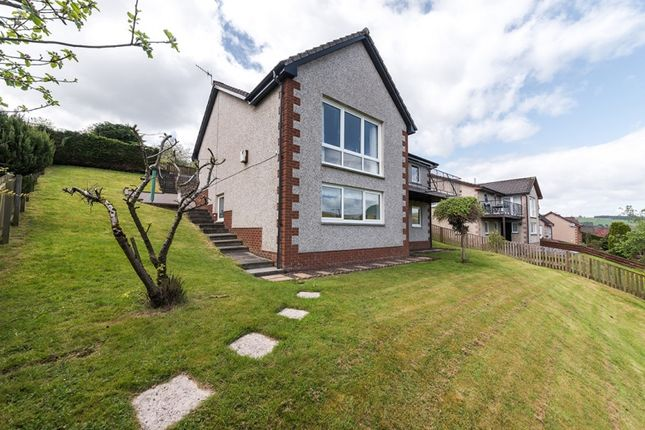 Thumbnail Detached house for sale in Catrail Road, Galashiels, Borders