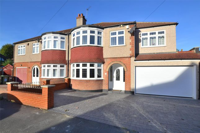 Thumbnail Semi-detached house for sale in Raleigh Avenue, Wallington, Surrey