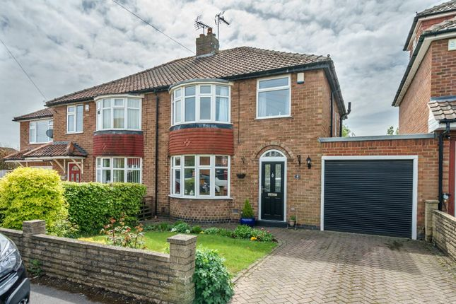 3 bed semi-detached house for sale in Sitwell Grove, Boroughbridge Road, York YO26