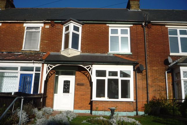 Thumbnail Terraced house to rent in Chatham Hill, Chatham