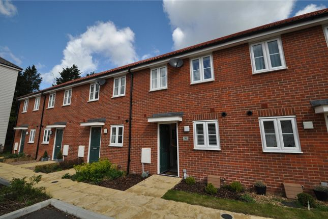 Thumbnail Terraced house to rent in Realmwood Close, Pilgrims Way, Canterbury, Kent