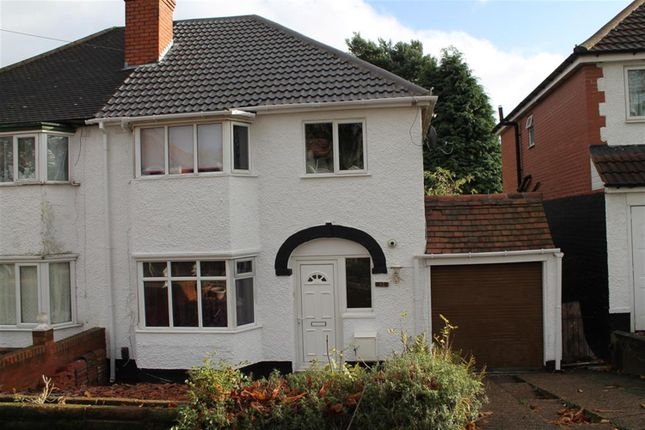 Thumbnail Semi-detached house to rent in Linchmere Road, Handsworth, Birmingham