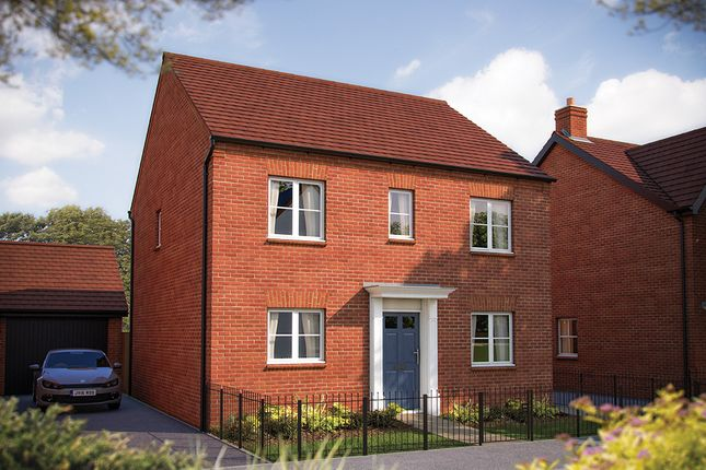"Thumbnail Detached house for sale in ""The Buxton"" at Rush Lane, Bidford-On-Avon, Alcester"