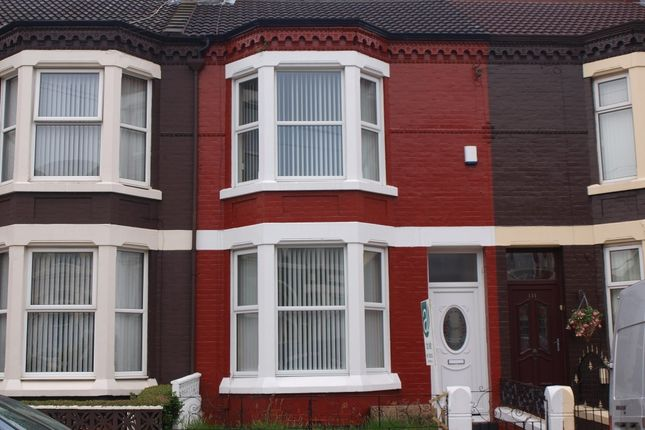 Thumbnail Terraced house to rent in Carisbrooke Road, Walton, Liverpool