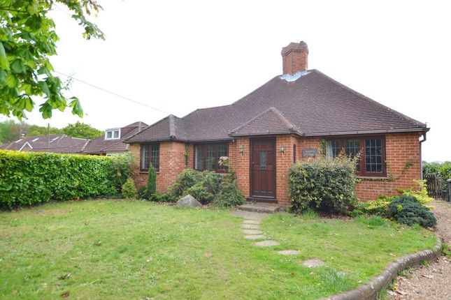 Thumbnail Bungalow to rent in Chequers Lane, Eversley, Hook