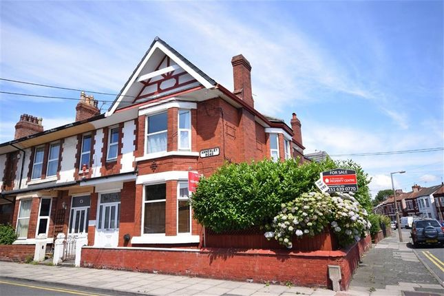 Thumbnail Flat to rent in Annesley Road, Wallasey, Merseyside