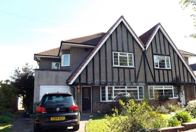 Thumbnail Semi-detached house to rent in Windsor Avenue, Radyr, Cardiff