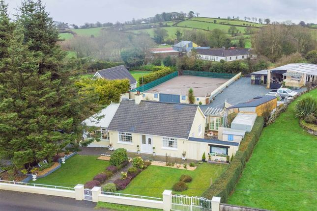 Thumbnail Detached bungalow for sale in Bawnhill Road, Ballynahinch, Down