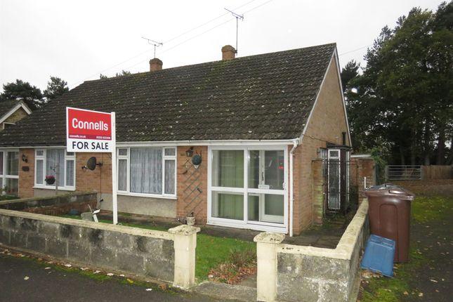 Thumbnail Semi-detached bungalow for sale in Yeoman Gardens, Willesborough, Ashford
