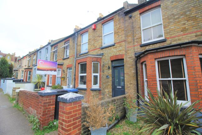 2 bed terraced house to rent in Marlborough Road, Margate CT9