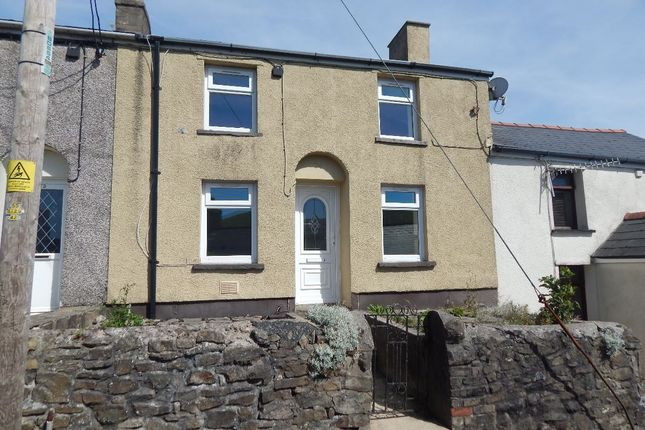 Thumbnail Terraced house to rent in Garn Road, Nantyglo, Ebbw Vale