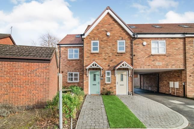Thumbnail End terrace house for sale in Wharf Road, Kings Norton, Birmingham, West Midlands
