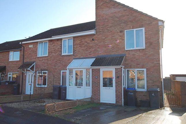 Thumbnail End terrace house to rent in Pennine Close, Melksham