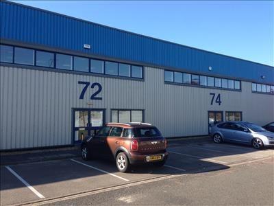 Thumbnail Warehouse to let in 74 Burners Lane, Kiln Farm, Milton Keynes, Buckinghamshire