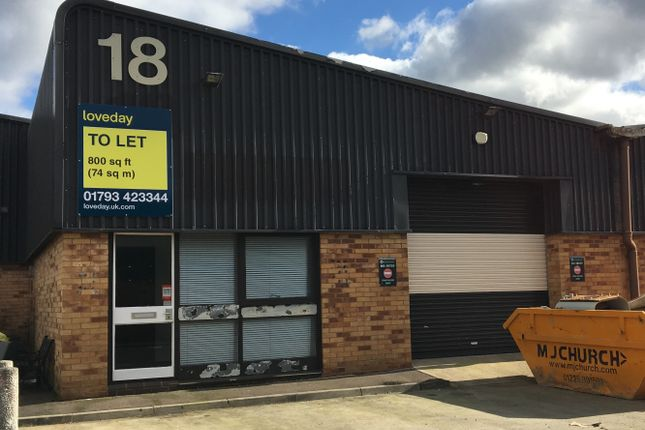 Thumbnail Industrial to let in Unit 18 Blackworth Industrial Estate, Highworth