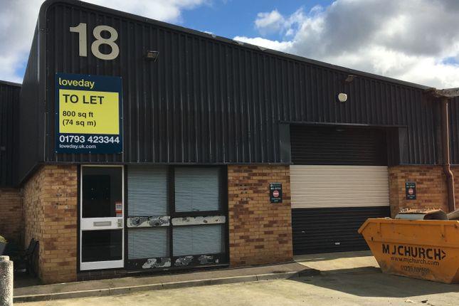 Thumbnail Industrial to let in Unit 18 Blackworth Industrial Estate, Highworth