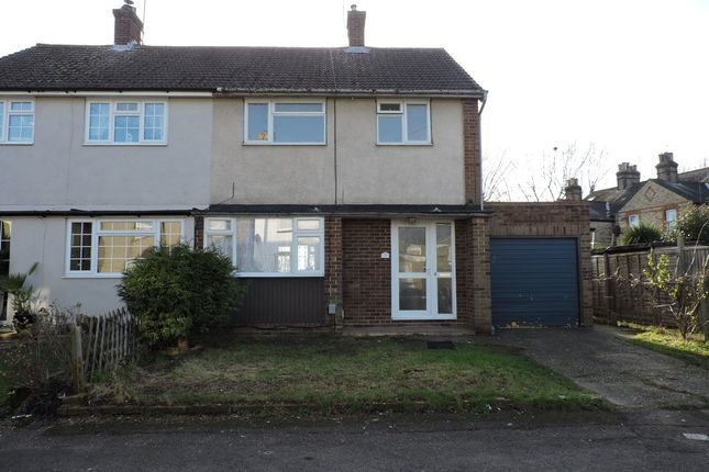 Thumbnail Semi-detached house to rent in Cromwell Road, Cheshunt