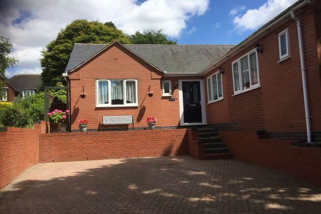 Thumbnail Detached bungalow for sale in Burton Road, Overseal, Swadlincote