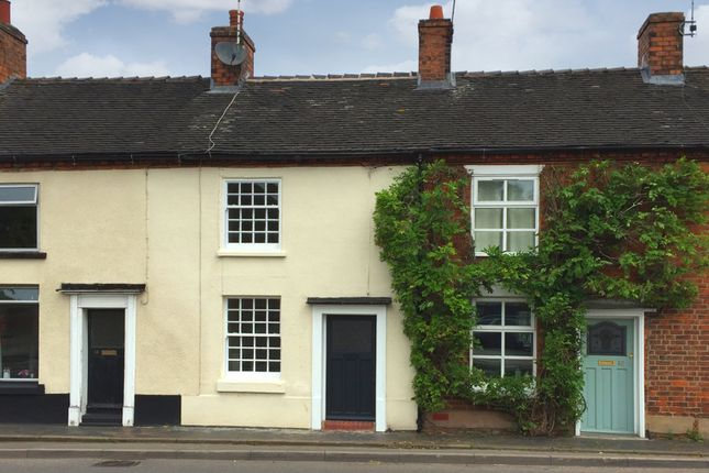 2 bed terraced house to rent in Stone Road, Eccleshall ST21