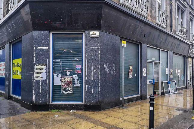 Thumbnail Retail premises to let in Great Junction Street, Edinburgh