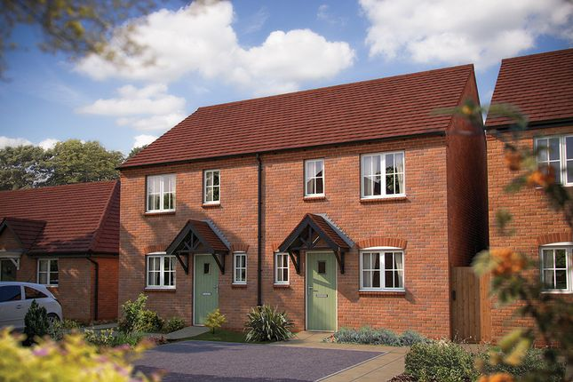 "Thumbnail Semi-detached house for sale in ""The Radford"" at Salford Road, Bidford-On-Avon, Alcester"