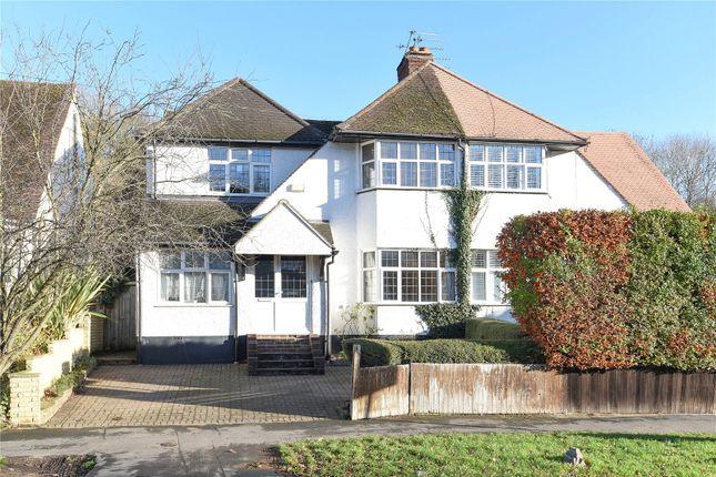 4 bed semi-detached house for sale in Whitelands Avenue, Chorleywood, Rickmansworth, Hertfordshire