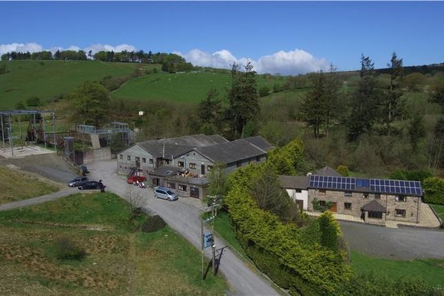 Thumbnail Leisure/hospitality for sale in The Red Ridge Centre Cefn Coch, Welshpool, Powys