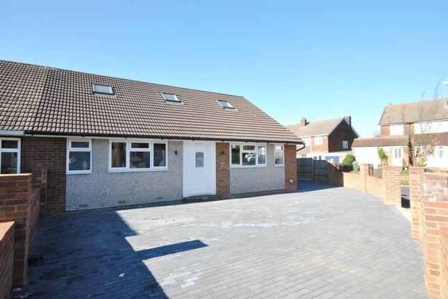 Thumbnail Semi-detached bungalow for sale in Lulworth Avenue, Goffs Oak, Waltham Cross