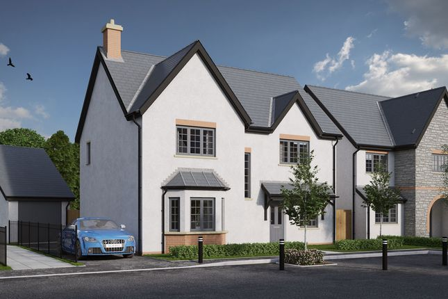Thumbnail Detached house for sale in St Nicholas, St. Nicholas, Cardiff
