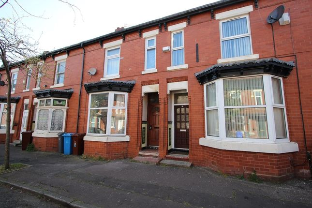 Thumbnail Terraced house for sale in Cambridge Avenue, Whalley Range