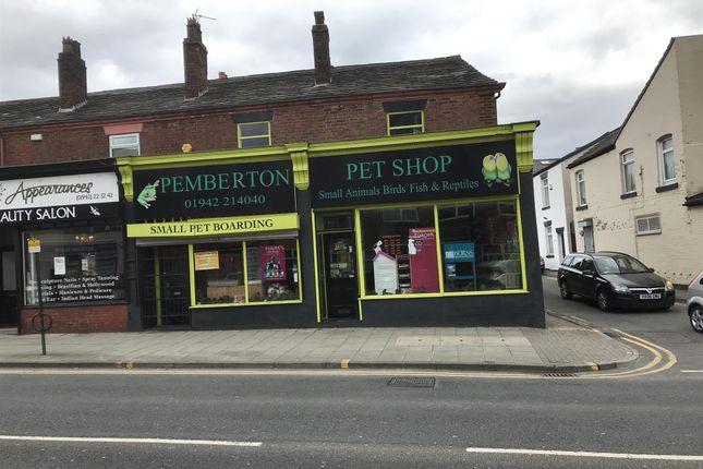 Thumbnail Retail premises for sale in Ormskirk Road, Pemberton, Wigan