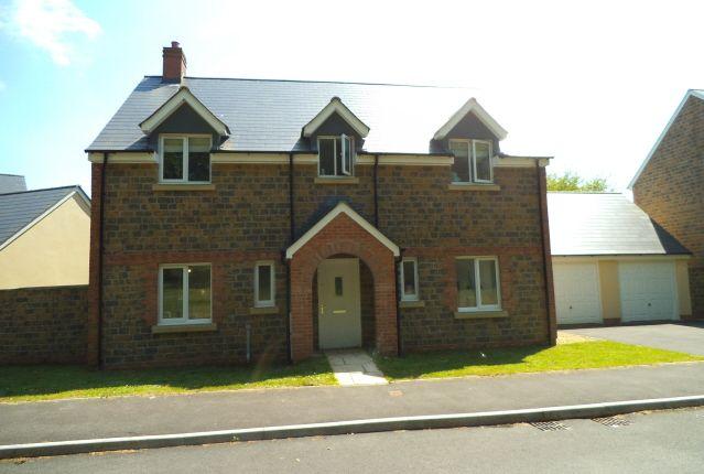 Thumbnail Detached house for sale in Llys Y Ddraenen Wen, Parc Derwen, Bridgend