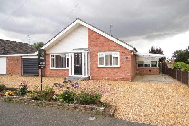 Thumbnail Detached bungalow for sale in Nursery Lane, South Wootton, King's Lynn