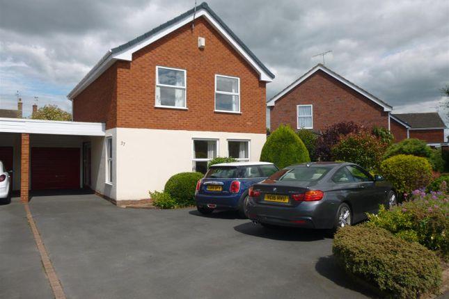 Thumbnail Detached house for sale in Harwoods Lane, Rossett, Wrexham