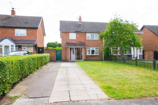 Thumbnail Semi-detached house for sale in Arps Road, Codsall, Wolverhampton, Staffordshire